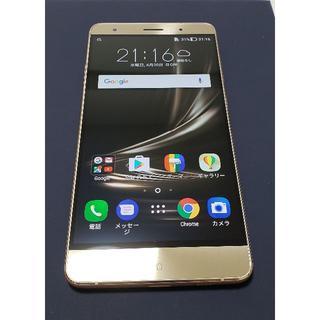 エイスース(ASUS)のZenfone 3 Deluxe(ZS570KL) ゴールド 国内版(スマートフォン本体)