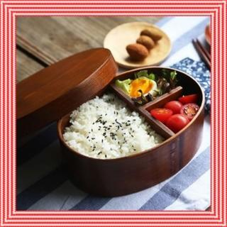 お弁当がおいしくなる! 木製 弁当箱 曲げわっぱ 一段 漆塗り ☆(弁当用品)