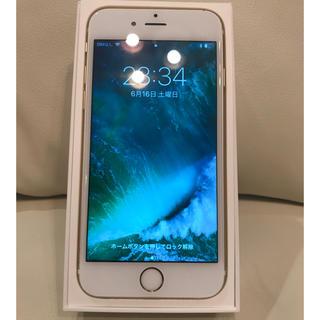 アップル(Apple)の美品  iPhone6s SIMフリー(スマートフォン本体)