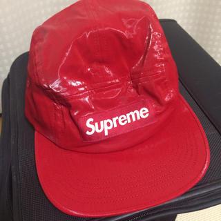 シュプリーム(Supreme)のsupreme camp cap新品未使用半タグ付き(キャップ)