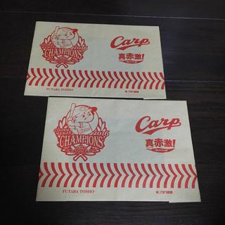 広島東洋カープ - 広島東洋カープ フタバ図書 ブックカバー セット 文庫本サイズ 紙製