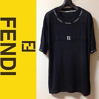 フェンディ(FENDI)の【高級】FENDI 半袖サマーセーター ニット(ニット/セーター)