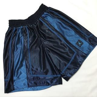 ナイキ(NIKE)のNIKE ジョーダン バスケットパンツ 紺 Mサイズ バスパン ネイビー(バスケットボール)