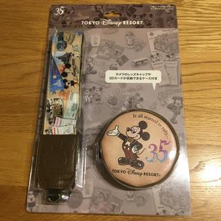 ディズニー(Disney)のディズニーランド35周年 カメラストラップ パーク内お品切れ中!(その他)