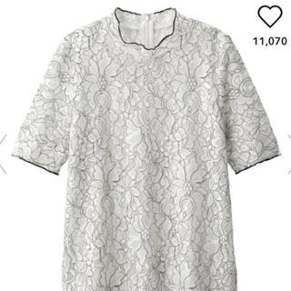 ジーユー(GU)のGU ジーユー トップス レース(シャツ/ブラウス(半袖/袖なし))