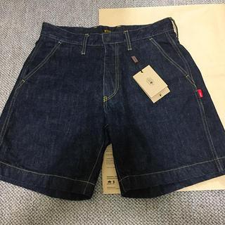 ダブルタップス(W)taps)のwtaps denim shorts(ショートパンツ)