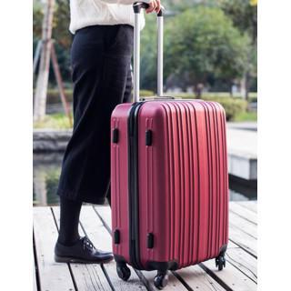 【持ち上げラクラク!】 スーツケース S サイズ 1泊~3泊用 ワインレッド(スーツケース/キャリーバッグ)