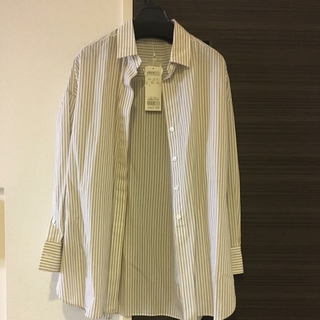 ニジュウサンク(23区)のストライプシャツ(シャツ/ブラウス(長袖/七分))