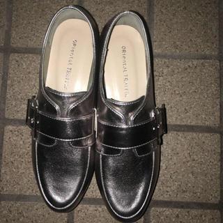 オリエンタルトラフィック(ORiental TRaffic)のORientalTRaffic☆シルバー厚底ローファー(ローファー/革靴)
