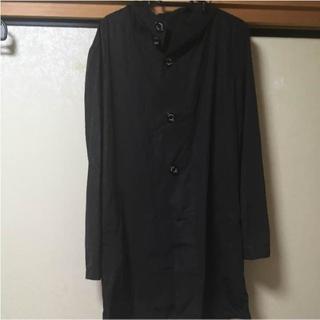ヒロミチナカノ(HIROMICHI NAKANO)のフード付きカッパ コート hiromichinakano ブランド品 ブラック(その他)