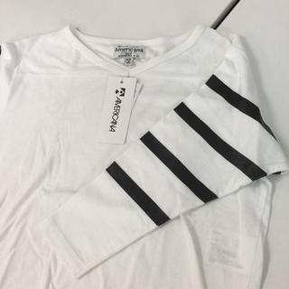 アメリカーナ(AMERICANA)の新品タグ付き Americana アメリカーナ 七分袖Tシャツ  ワンサイズ(Tシャツ(長袖/七分))