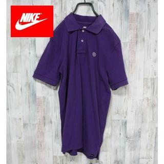 ナイキ(NIKE)のナイキ NIKE ポロシャツ 風車 スポーツミックス 古着  90S系(ポロシャツ)