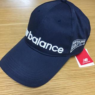 ニューバランス(New Balance)のニューバランス キャップ 黒 新品(その他)