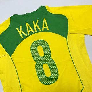 ナイキ(NIKE)のNIKE 元ブラジル代表 カカ ユニフォーム Mサイズ 黄色(ウェア)