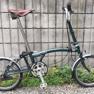 BROMPTON - Brompton ブロンプトン 折りたたみ自転車 /ブリティッシュグリーン