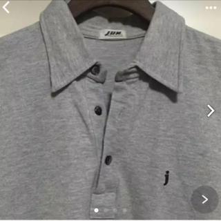 ジュンメン(JUNMEN)のメンズ ジュンメン グレーポロシャツ(ポロシャツ)