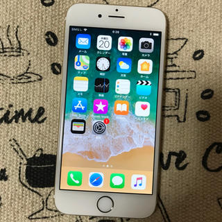 docomo iPhone6 64GB ゴールド バッテリー新品