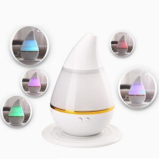 【新品】Sympa アロマディフューザー 加湿器 卓上 水滴型(加湿器/除湿機)