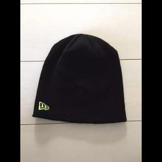 ニューエラー(NEW ERA)のニューエラ ニット帽 新品未使用 フリーサイズ newera cap(ニット帽/ビーニー)
