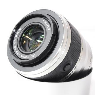 ニコン(Nikon)の❤極上美品❤ニコンミラーレス用望遠❤Nikon 1 30-110mm VR(レンズ(ズーム))