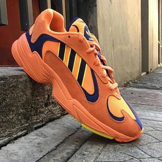 アディダス(adidas)の27 ADIDAS YUNG-1 オレンジ(スニーカー)