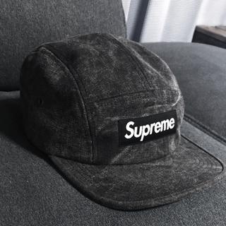 シュプリーム(Supreme)のsupreme ジェットキャップ ブラックデニム(キャップ)