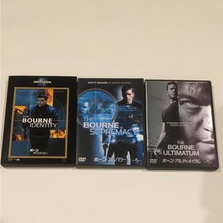 中古DVD ボーンシリーズ(外国映画)