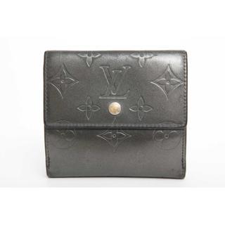 ルイヴィトン(LOUIS VUITTON)の本物 ルイ ヴィトン モノグラム マット 折財布 正規品(財布)