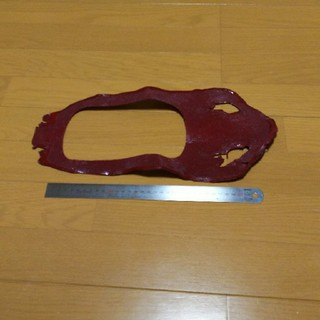 稀少 貴重 スティングレー ガルーシャ エイ革 ハンドメイド材料(生地/糸)