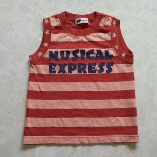 ニットプランナー(KP)の90☆タンクトップ☆使用品(Tシャツ/カットソー)