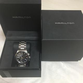 ハミルトン(Hamilton)の難あり特価 ハミルトン シービュー クロノグラフ ブラック クオーツ メンズ(腕時計(アナログ))