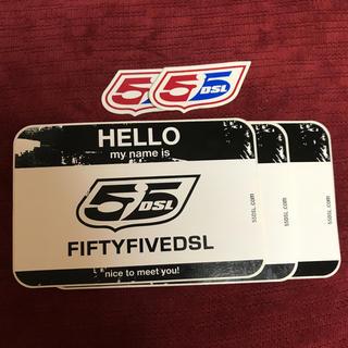 フィフティーファイブディーエスエル(55DSL)のFIFTYFIVE DIESEL 55DSL ステッカー 5枚セット(ステッカー)