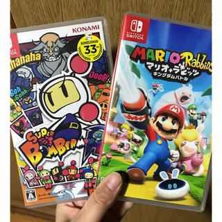 ニンテンドースイッチ(Nintendo Switch)の任天堂 switch bomberman マリオラビッツ(家庭用ゲームソフト)