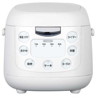 【タイマー機能最大8時間♪】炊飯器 炊飯ジャー 3.5合炊き,(炊飯器)