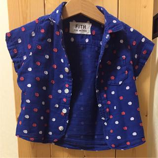 フィス(FITH)のFITH シャツ S 約80cm(Tシャツ/カットソー)