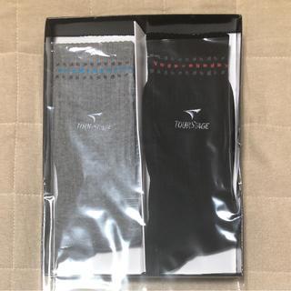 ブリヂストン(BRIDGESTONE)の新品 ブリジストン 靴下 ソックス  グレー ブラック ゴルフ(ソックス)