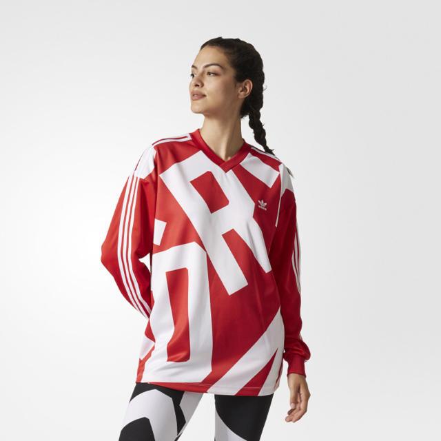 adidas(アディダス)のadidas originals アディダスオリジナルス Tシャツ レディースのトップス(Tシャツ(長袖/七分))の商品写真