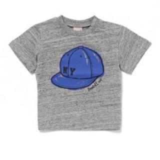 プティマイン(petit main)の  【新品】petit main Tシャツ グレー(Tシャツ/カットソー)