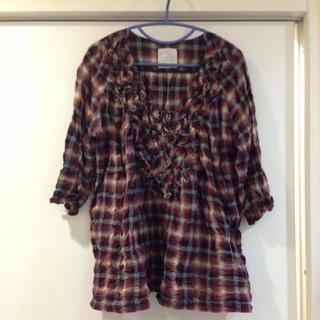 ビームス(BEAMS)のRAY BEAMS  チェックシャツ(カットソー(長袖/七分))