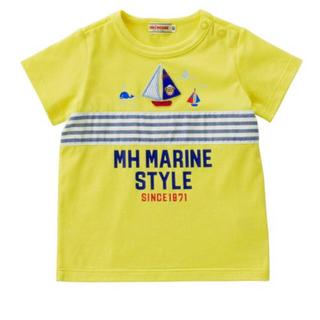 ミキハウス(mikihouse)の新品タグ付き 今期ミキハウス プッチーマリンTシャツ 半袖(Tシャツ/カットソー)