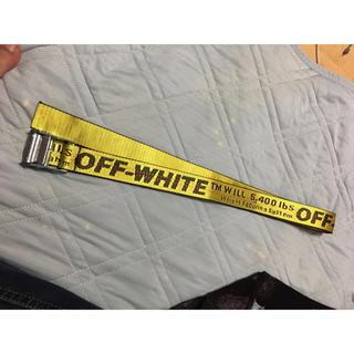 オフホワイト(OFF-WHITE)のOFF WHITE BELT 200cm(ベルト)