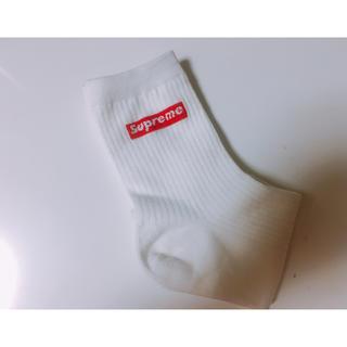 韓国靴下(ホワイト)(ソックス)
