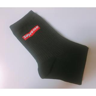 韓国靴下(ブラック)(ソックス)