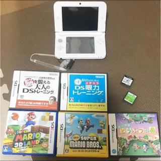ニンテンドウ(任天堂)のお買得★任天堂3DSLLとソフト7個セット★(携帯用ゲーム本体)