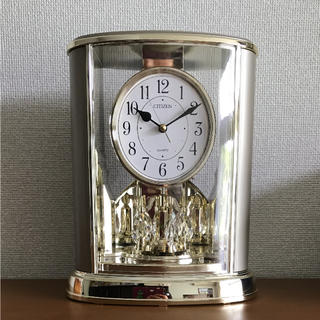 シチズン(CITIZEN)の【シチズン】4SG724-018(置時計)(置時計)