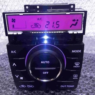 スズキ(スズキ)のパレットMK21S ピンクLED打ち変え済み エアコンスイッチパネル完成品!(車種別パーツ)