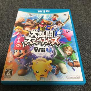ニンテンドウ(任天堂)の大乱闘スマッシュブラザーズ Wii U(家庭用ゲームソフト)