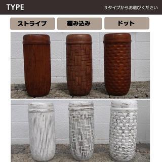 バリ島 木彫り傘立て H50cm 通常¥8,000がなんと!(その他)