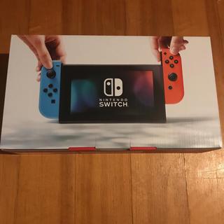 ニンテンドースイッチ(Nintendo Switch)のswitch ネオンカラー @31500 保証印無し(家庭用ゲーム本体)