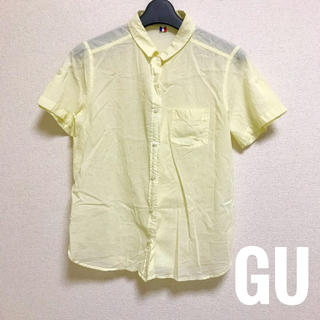 ジーユー(GU)のGU Mサイズ 半袖シャツ(シャツ/ブラウス(半袖/袖なし))